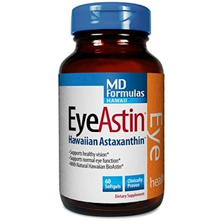 Nutrex Hawaii, EyeAstin、60ソフトジェル