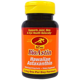 Nutrex Hawaii, BioAstin、12 mg、50ジェルカプセル