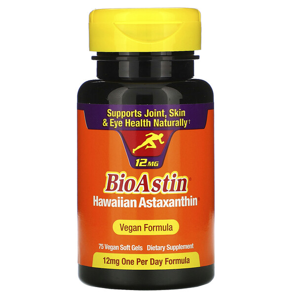 BioAstin, 12 mg, 75 Vegan Soft Gels