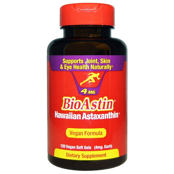 BioAstin, 4 mg, 120 Vegan Soft Gels