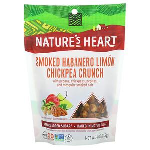 Nature's Heart, 鷹嘴豆脆,煙薰哈瓦那檸檬,4 盎司(113 克)