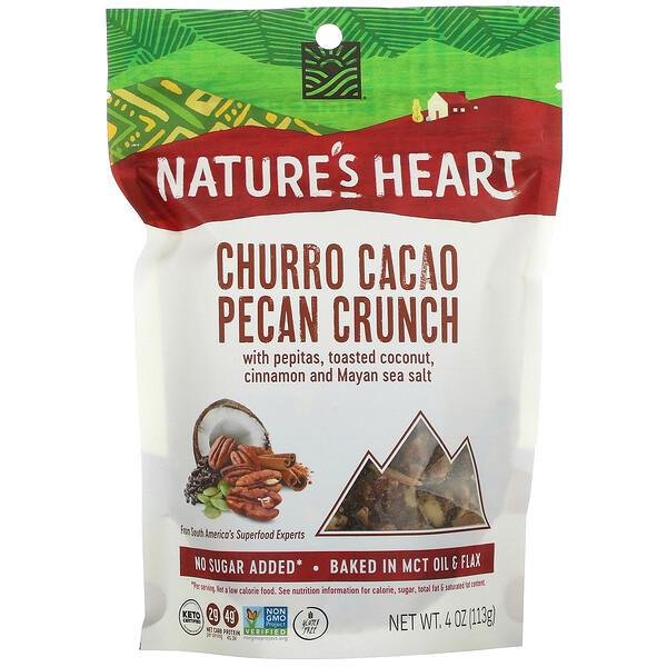 Churro Cacao Pecan Crunch, 4 oz (113 g)