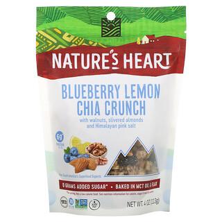 Nature's Heart, Chia Crunch, Blueberry Lemon, 4 oz (113 g)
