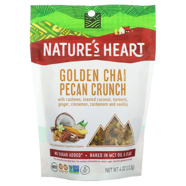 Golden Chai Pecan Crunch , 4 oz (113 g)