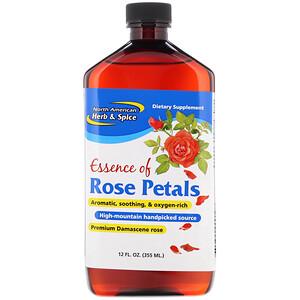 Норс Американ Херб энд Списе Ко, Essence of Rose Petals, 12 fl oz (355 ml) отзывы покупателей