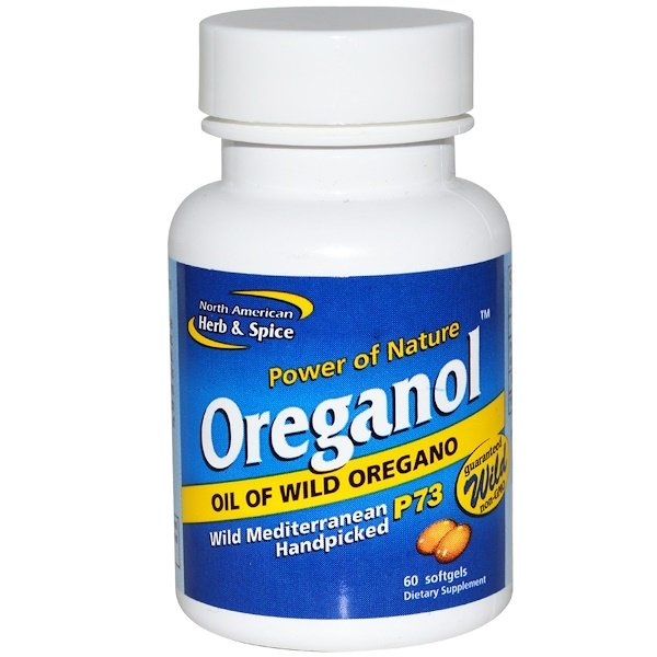 North American Herb & Spice Co., Oreganol, 60 Softgels