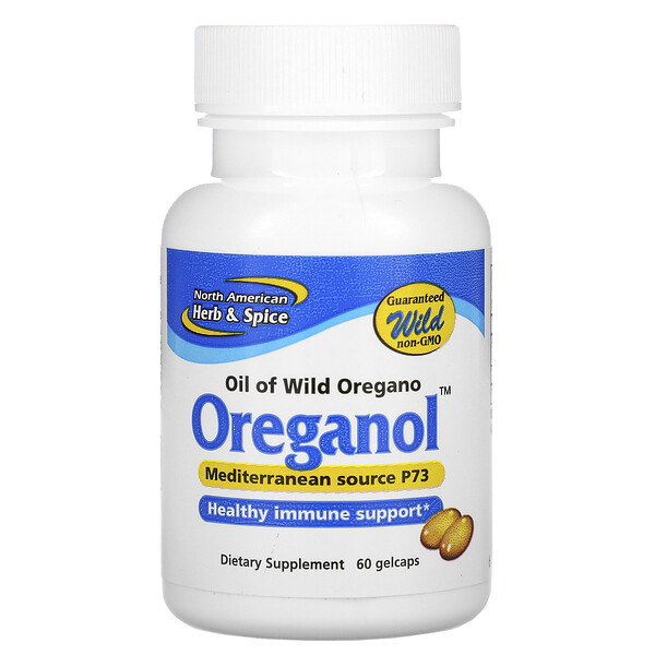 North American Herb & Spice, Oreganol, 60 Softgels