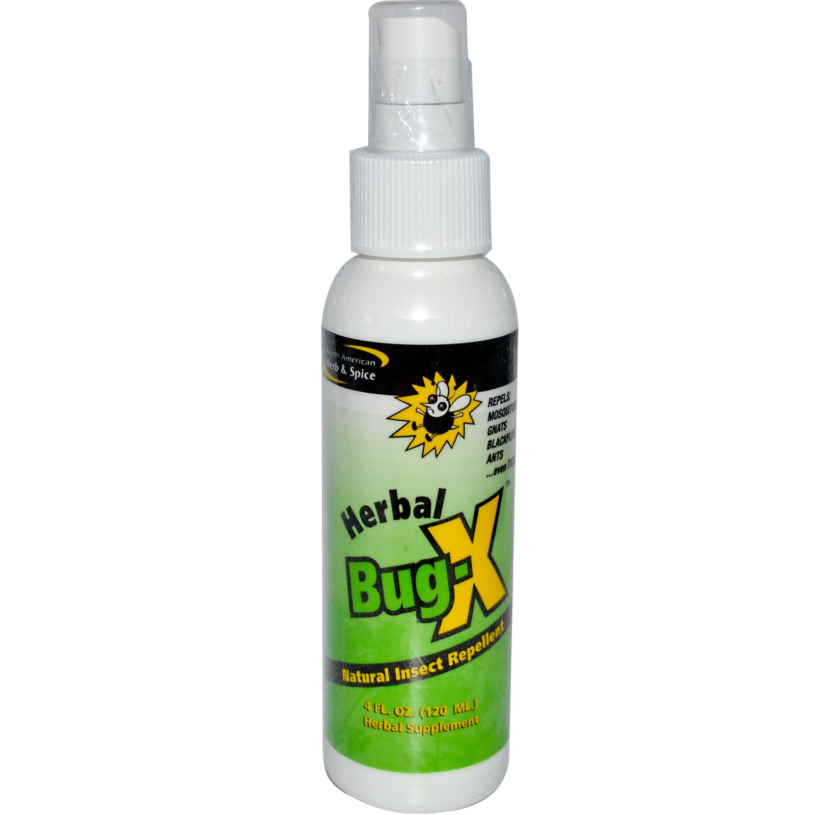 North American Herb & Spice Co., Herbal Bug-X, Natural ...
