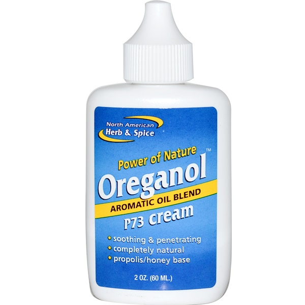 North American Herb & Spice Co., Oreganol, P73 Cream, 2 oz (60 ml) (Discontinued Item)