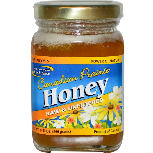 North American Herb & Spice Co., Canadian Prairie Honey, 9.40 oz (266 g) (Discontinued Item)