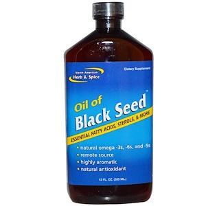 Норс Американ Херб энд Списе Ко, Oil of Black Seed, 12 fl oz (355 ml) отзывы