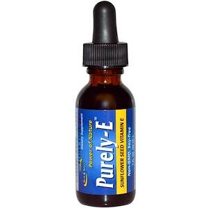 Норс Американ Херб энд Списе Ко, Purely-E, Sunflower Seed Vitamin E, 1 fl oz (30 ml) отзывы