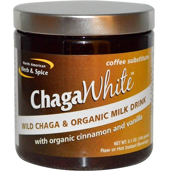 North American Herb & Spice Co., ChagaWhite, Coffee Substitute, 5.1 oz (145 g)