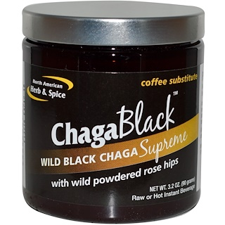 North American Herb & Spice Co., ChagaBlack, Coffee Substitute, 3.2 oz (90 g)