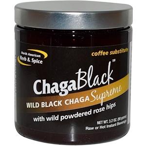 Норс Американ Херб энд Списе Ко, ChagaBlack, Coffee Substitute, 3.2 oz (90 g) отзывы