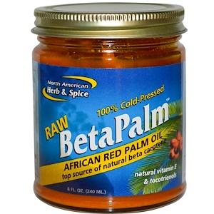 Норс Американ Херб энд Списе Ко, Raw BetaPalm, African Red Palm Oil, 8 fl oz (240 ml) отзывы