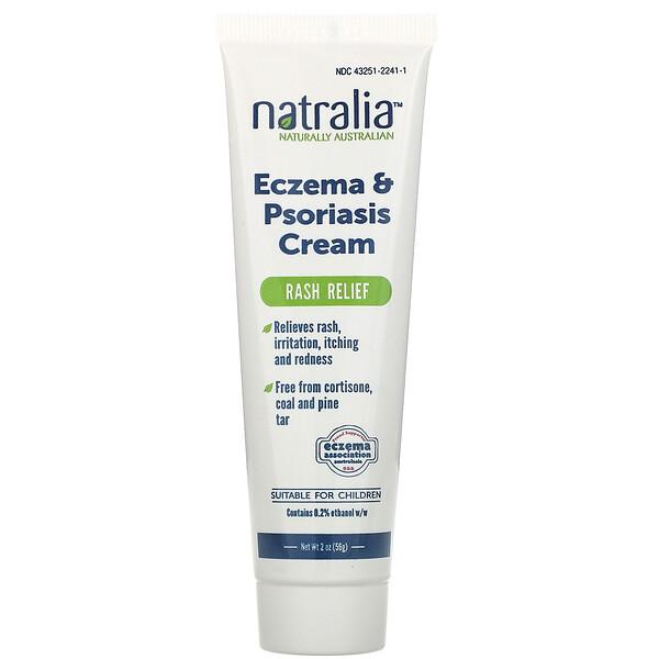 Eczema & Psoriasis Cream, 2 oz (56 g)