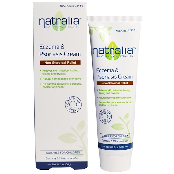Natralia, Eczema & Psoriasis Cream, 2 oz (56 g)