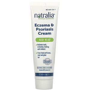 Натралия, Eczema & Psoriasis Cream, 2 oz (56 g) отзывы