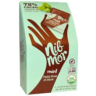 Nibmor, Daily Dose of Dark, Mint, 7 Pieces, .35 oz (9.9 g) Each