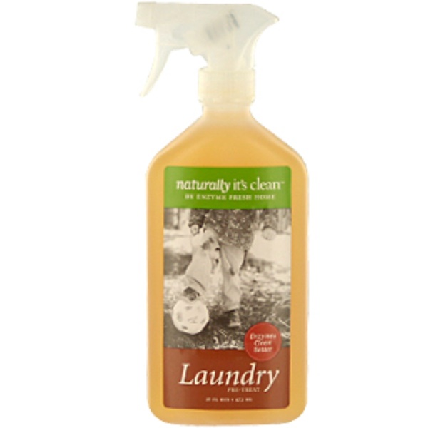 Naturally It's Clean, Laundry, Pre-Treat, 16 fl oz (473 ml) (Discontinued Item)