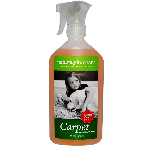 Naturally It's Clean, Carpet, Stains & Odors, 16 fl oz (473 ml) (Discontinued Item)