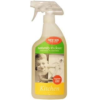 Naturally It's Clean, Kitchen Cleaner, 24 fl oz (710 ml)