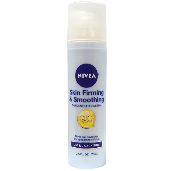Nivea, Skin Firming & Smoothing Concentrated Serum, 2.5 fl oz (75 ml) (Discontinued Item)