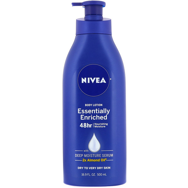 Nivea, Body Lotion, Essentially Enriched, 16.9 fl oz (500 ml)