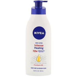 Нивеа, Intense Healing Body Lotion, Very Dry & Rough Skin, 16.9 fl oz (500 ml) отзывы