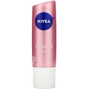 Нивеа, Radiant Lip Care, Shimmer, 0.17 oz (4.8 g) отзывы