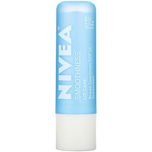 Нивеа, Lip Care, SPF 15, Smoothness, 0.17 oz (4.8 g) отзывы покупателей