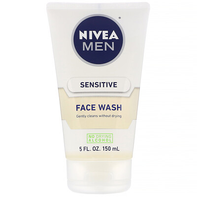 Купить Nivea Средство для умывания для мужчин, для чувствительной кожи, 150мл (5жидк.унций)