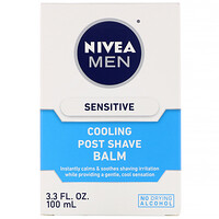 Men, Sensitive Cooling Post Shave Balm, 3.3 fl oz (100 ml) - фото