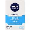 Nivea, Men, Sensitive Cooling Post Shave Balm, 3.3 fl oz (100 ml)