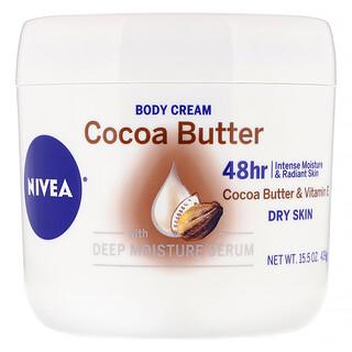 Nivea, ボディクリーム、ココアバター、439 g(15.5 oz)
