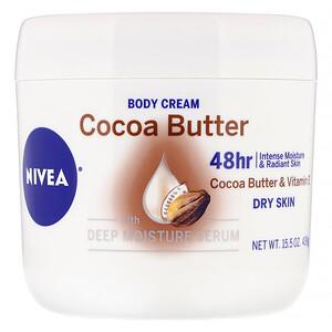 Нивеа, Body Cream, Cocoa Butter, 15.5 oz (439 g) отзывы