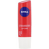 Nivea, Lip Care, Strawberry, 0.17 oz (4.8 g)