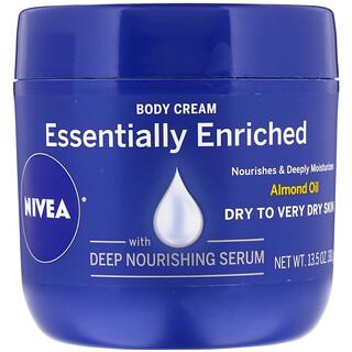 Nivea, Body Cream, Essentially Enriched, 13.5 fl oz (382 g)