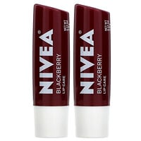 Tinted Lip Care, Blackberry, 2 Pack, 0.17 oz (4.8 g) Each - фото