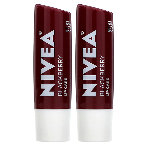 Tinted Lip Care, Blackberry, 2 Pack, 0.17 oz (4.8 g) Each