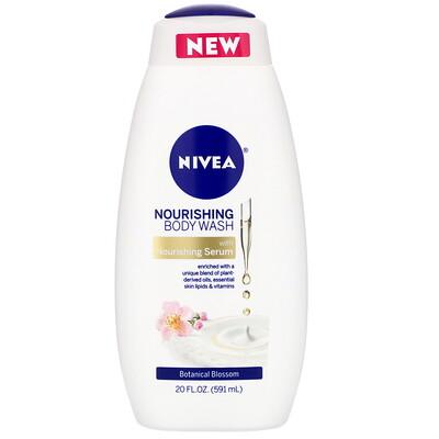 Купить Nivea Nourishing Body Wash, Botanical Blossom, 20 fl oz (591 ml)