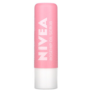 Nivea, Caring Scrub Super Soft Lips, Rosehip Oil + Vitamin E, 0.17 oz (4.8 g)