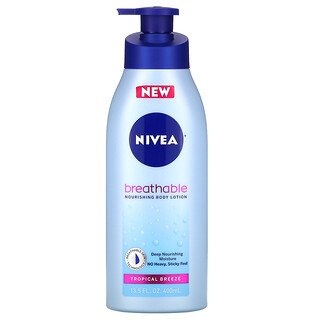 Nivea, Breathable Nourishing Body Lotion, Tropical Breeze,  13.5 fl oz (400 ml)