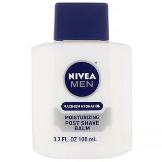 Nivea, Men, Maximum Hydration, Moisturizing Post Shave Balm, 3.3 fl oz (100 ml)