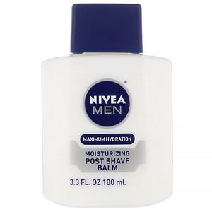 Нивеа, Men, Maximum Hydration, Moisturizing Post Shave Balm, 3.3 fl oz (100 ml) отзывы покупателей