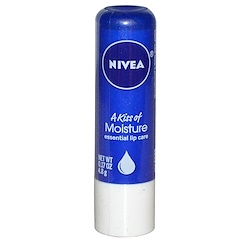 Nivea, A Kiss of Moisture, Essential Lip Care, 0.17 oz (4.8 g)
