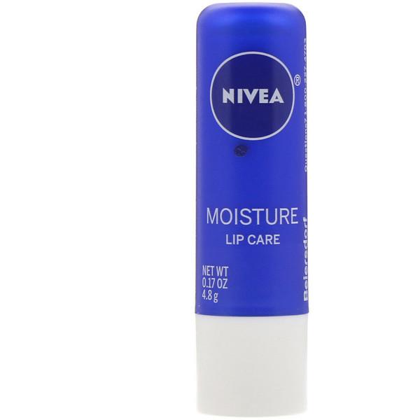 Nivea, Moisture Lip Care, 0.17 oz (4.8 g)
