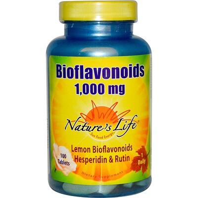 Биофлавоноиды, 1,000 мг, 100 таблеток