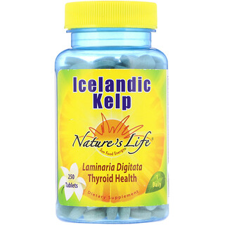Nature's Life, Icelandic Kelp, 250 Tablets